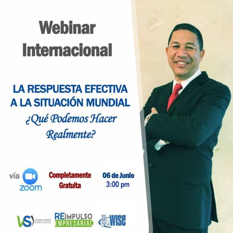 Conferencias internacionales tratarán la reactivación de la economía