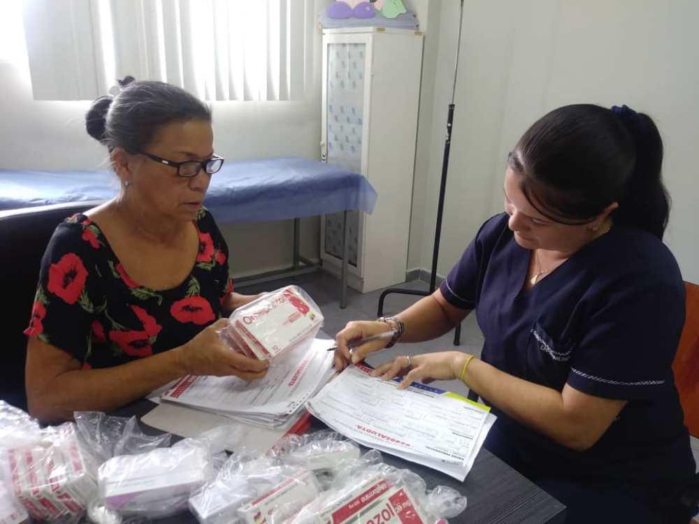 Alcaldía de Carrizal recibe donaciones para pacientes con enfermedades crónicas