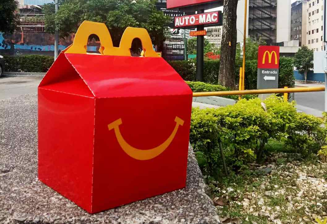 Diversión en casa junto a McDonald's
