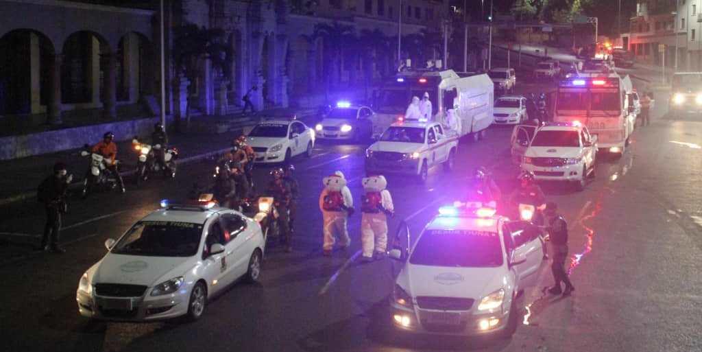 Continúa el plan de desinfección en las calles, avenidas y locales comerciales de Caracas
