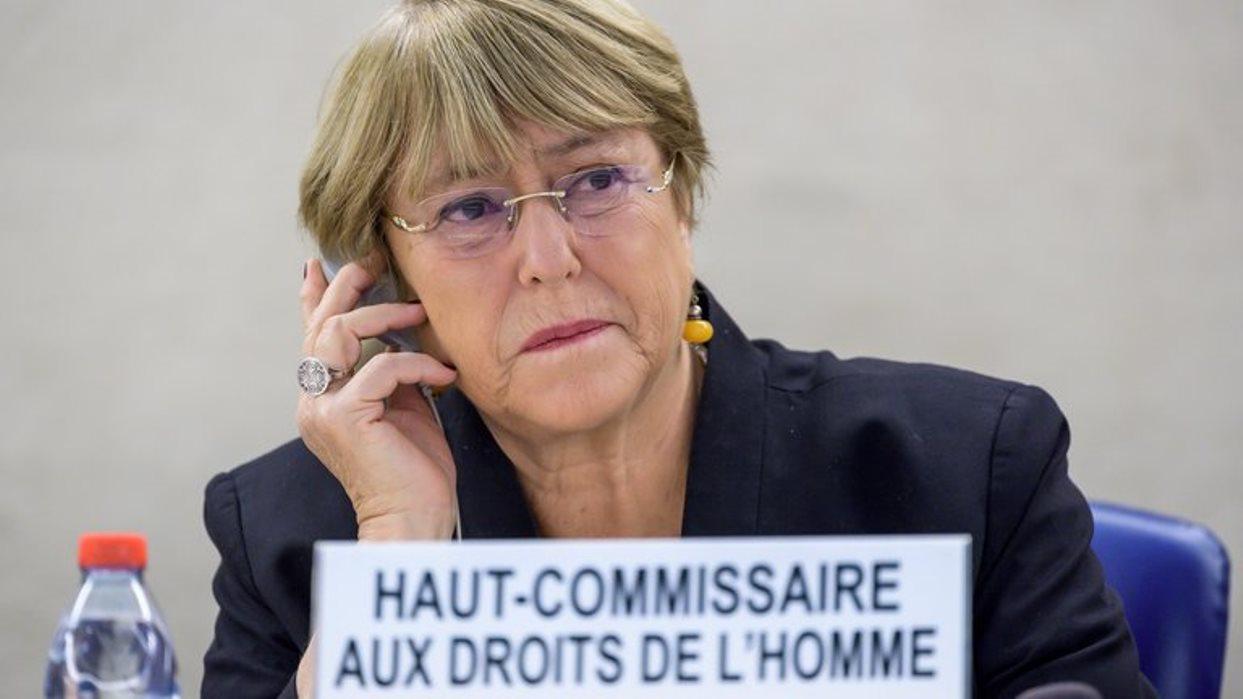 Bachelet expresa preocupación por