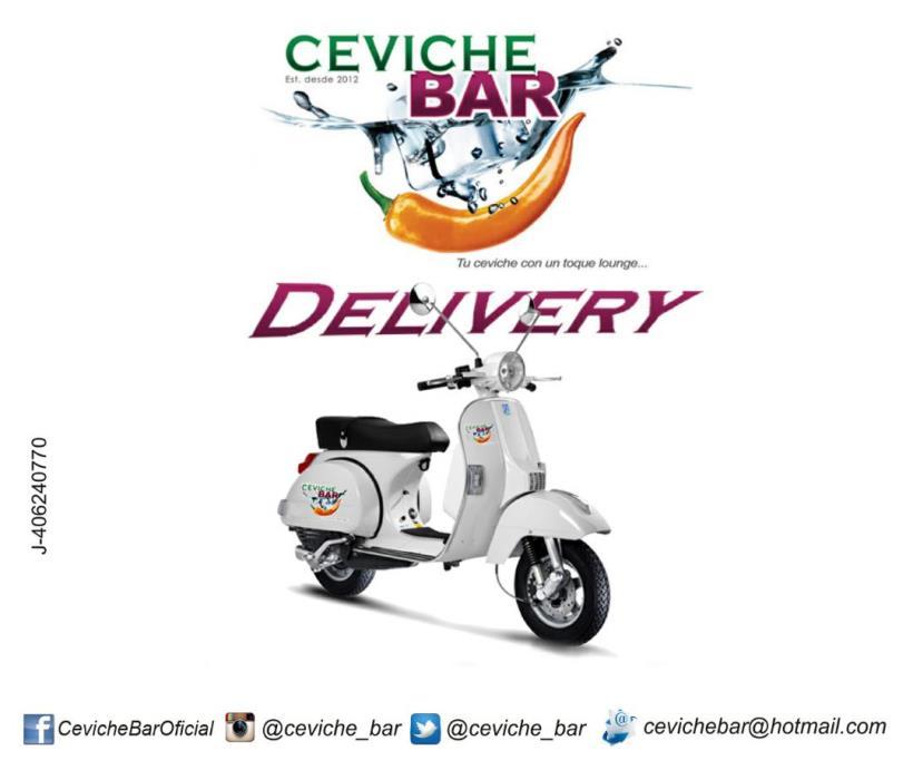 Ceviche Bar llega a la casa