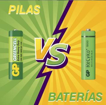 Dos tipos de energía muy diferente