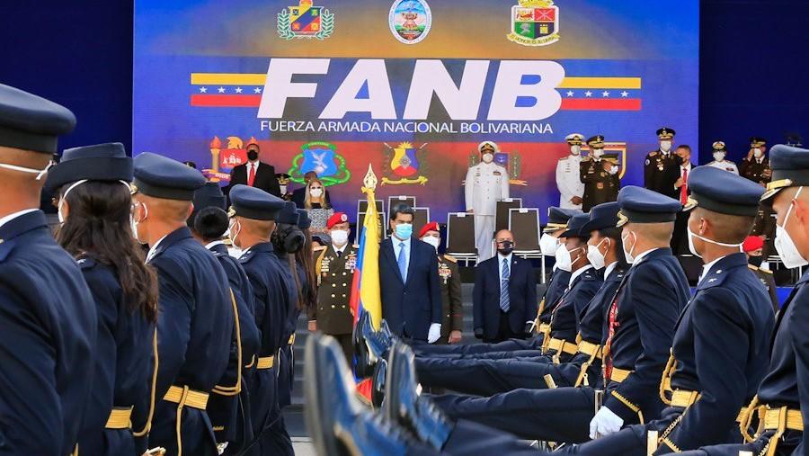 Maduro graduó a 1.083 cadetes de la Universidad Militar Bolivariana