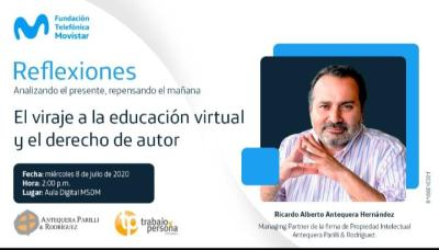 La educación virtual es tema de conversación