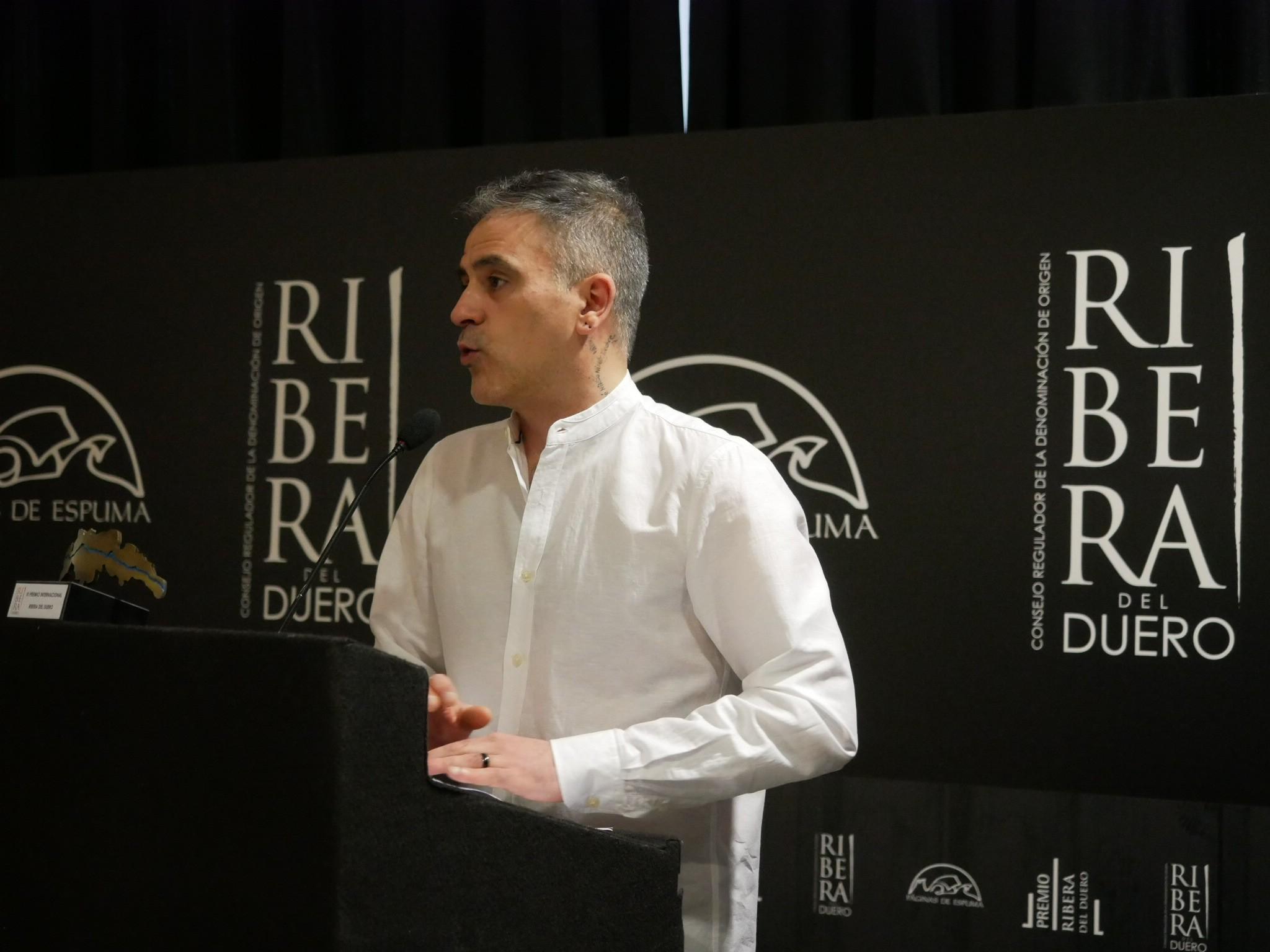 Marcelo Luján, ganador del VI Premio Ribera del Duero