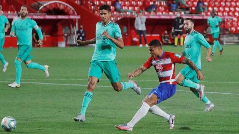 Machís vulneró la imbatibilidad de Courtois con su segundo gol de la campaña al Real Madrid