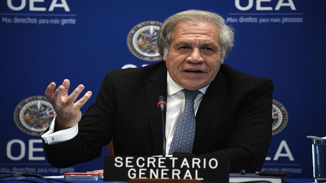 """Luis Almagro: """"Venezuela requiere la implementación del protocolo de San Salvador porque vive la mayor crisis de la región"""""""