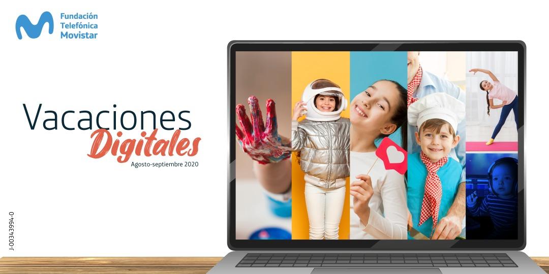 Fundación Telefónica Movistar lanza Vacaciones Digitales