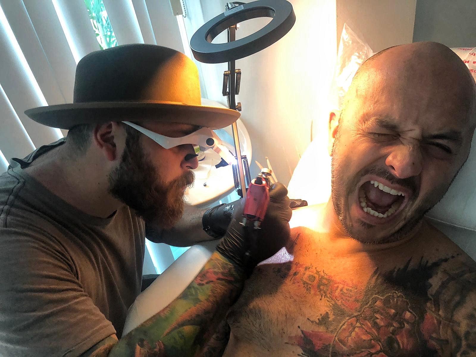 Maikol Rangel quiere desarrollar un nuevo estilo de tatuar