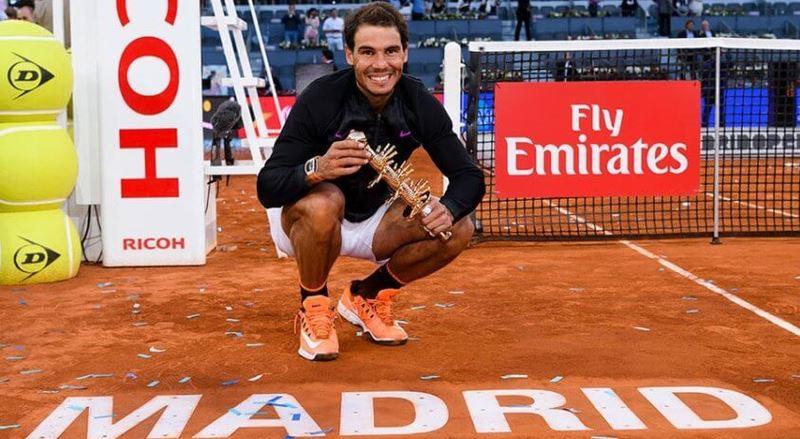 Recomiendan no realizar el Masters de tenis de Madrid