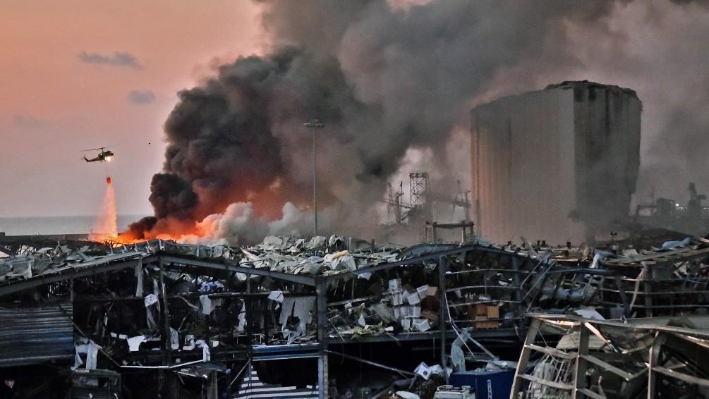 Detenidos 16 funcionarios del puerto de Beirut por explosión