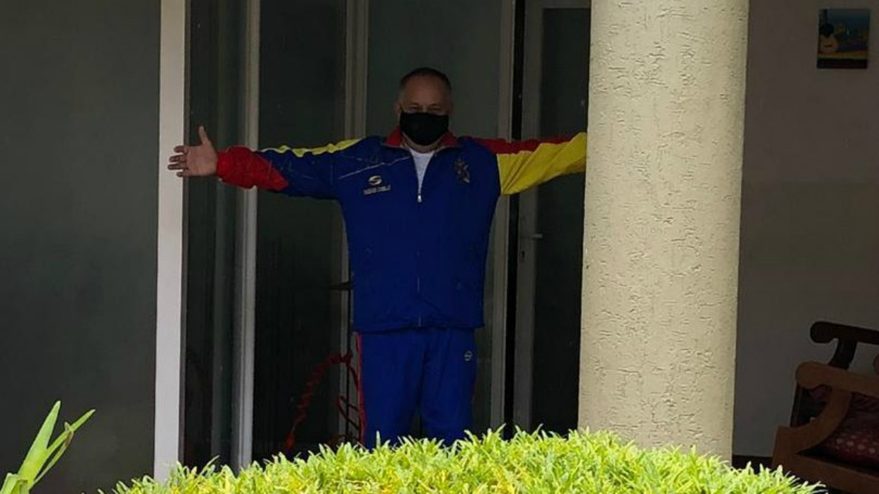 Diosdado Cabello recibió alta médica tras superar el Covid-19