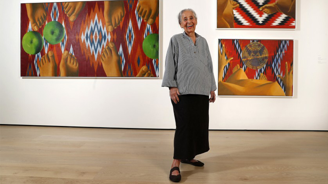 Fallece la artista plástica venezolana Luchita Hurtado, a los 99 años de edad