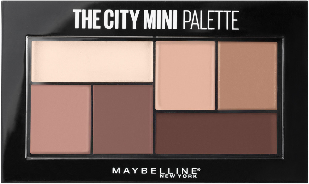 Luce un maquillaje radiante y de impacto con The City Mini Palette