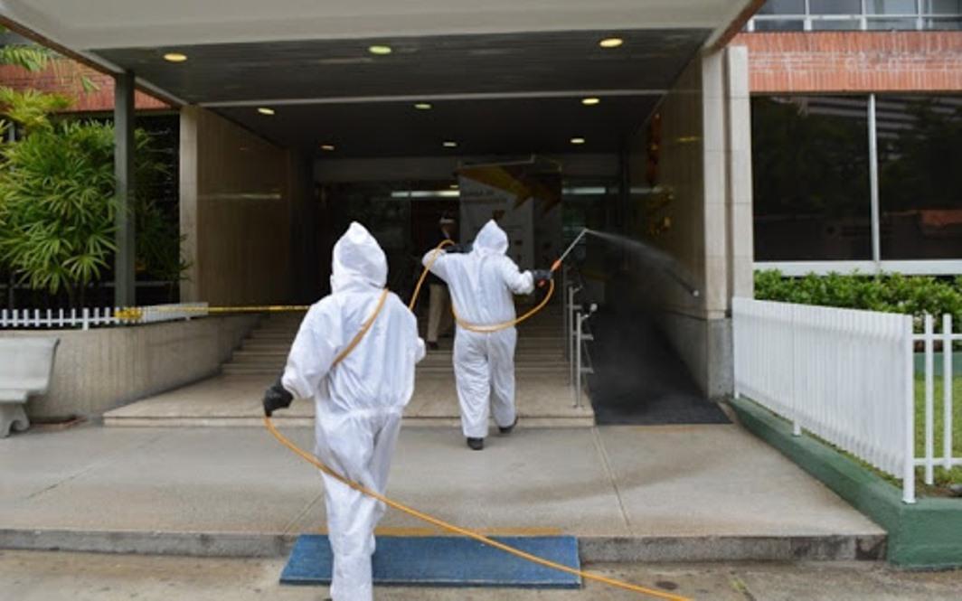 Al menos 12 mil desinfecciones se han realizado en Chacao
