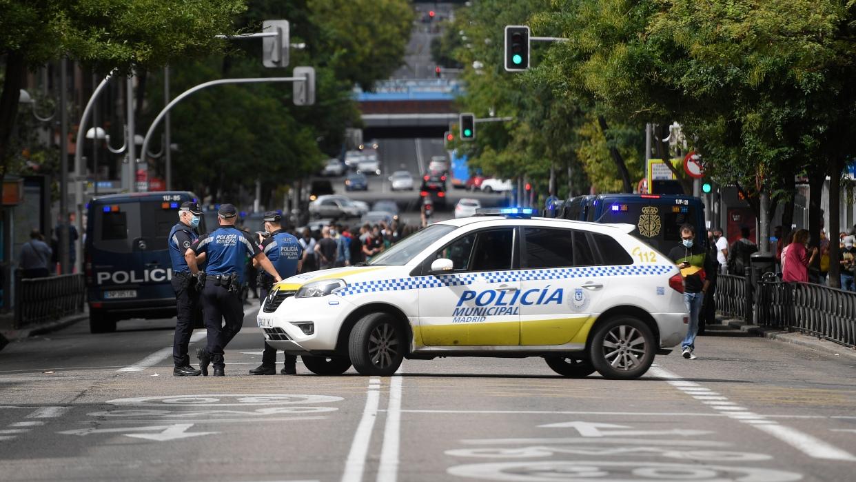 En medio de manifestaciones Madrid se prepara para nuevo confinamiento que busca frenar segunda oleada del Covid-19