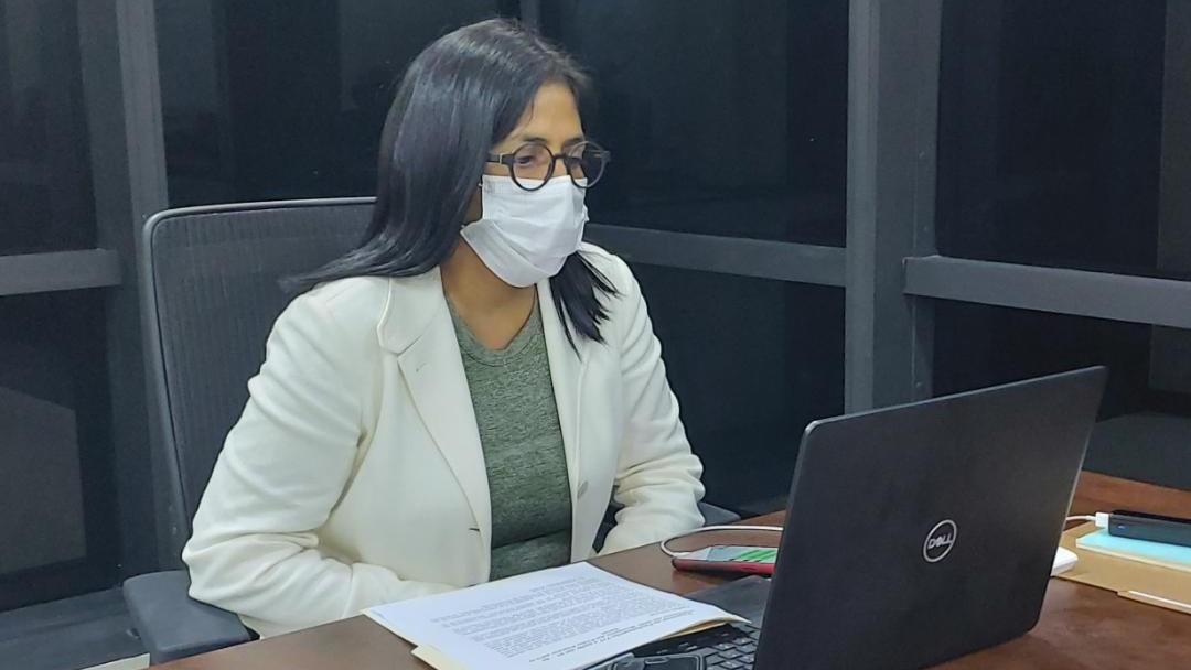 Vicepresidenta Ejecutiva recibió a observadores electorales ecuatorianos