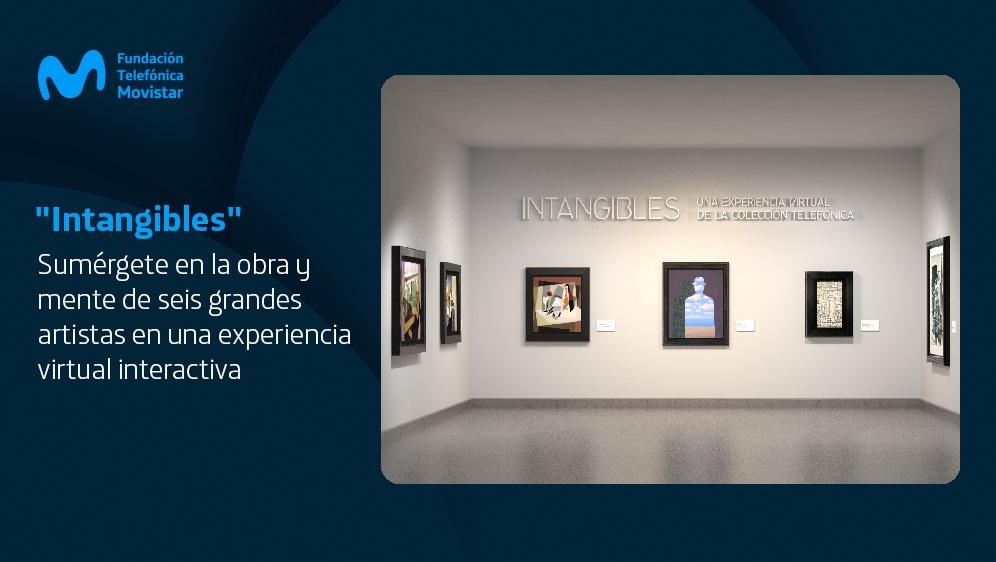 """Fundación Telefónica Movistar reúne a los grandes del arte en el mundo digital con """"Intangibles"""""""