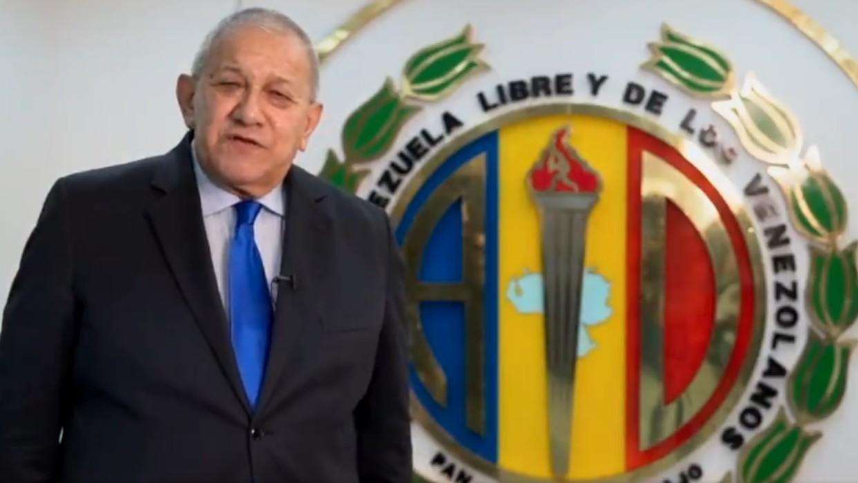 Acción Democrática rechaza sanciones de EEUU contra Bernabé Gutiérrez