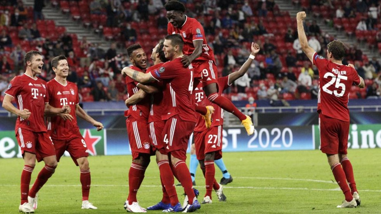Bayern Münich conquista en tiempo extra la Supercopa de Europa