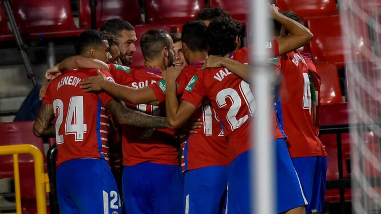 Machís anota el  gol decisivo para dar el pase al Granada en la Europa League