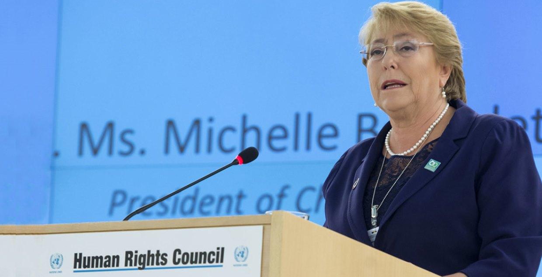 Bachelet pide seguir trabajando en acuerdos para alcanzar adecuadas condiciones electorales en Venezuela