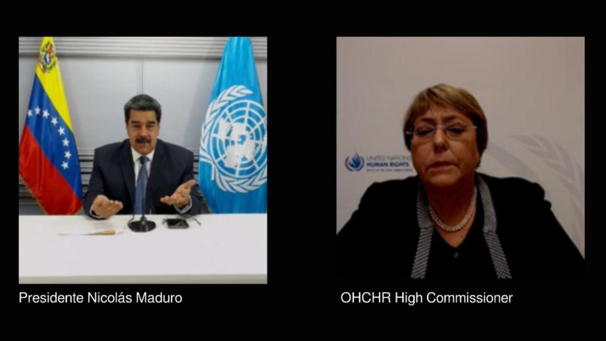 Presidente Maduro analizó informe sobre DDHH con Alta Comisionada de la ONU