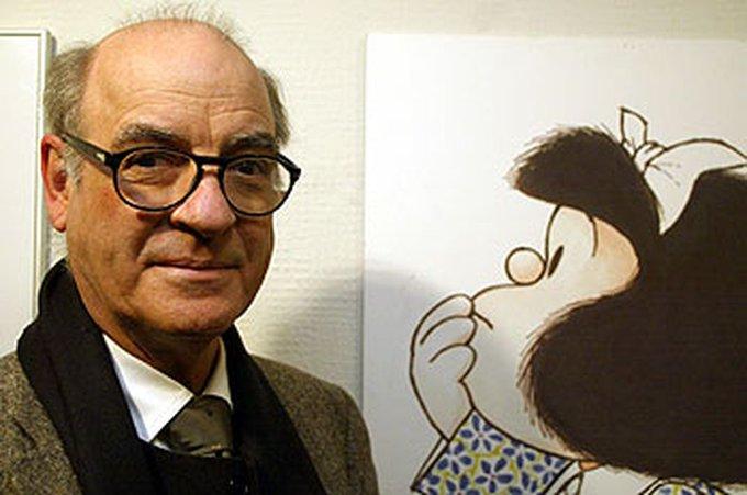 El mundo dice adiós a Quino, el creador de la inolvidable Mafalda