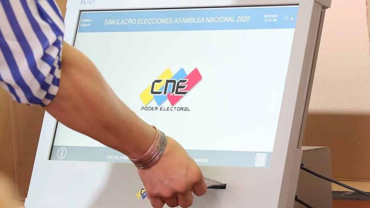 CNE desplegó casi 30 mil máquinas electorales para los comicios parlamentarios