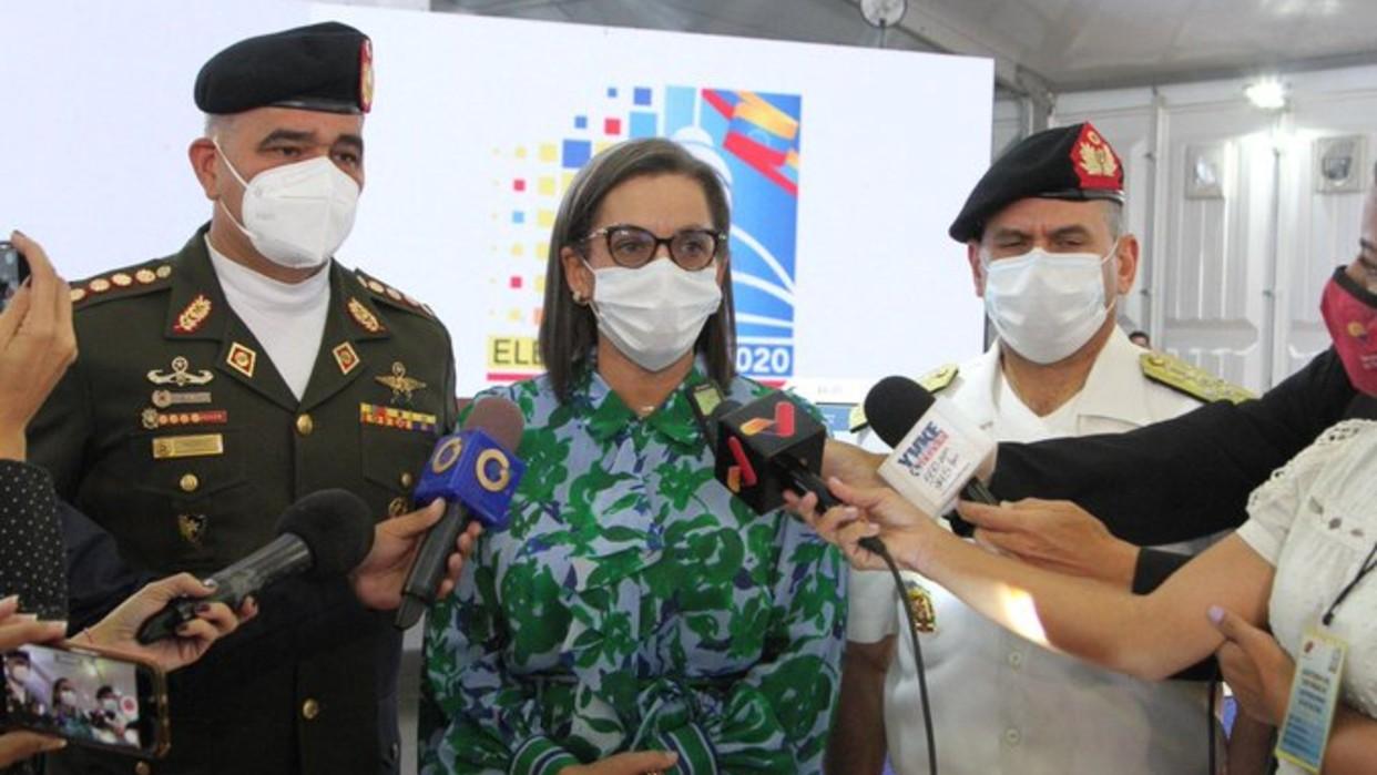 Presidenta del CNE: Centros de votación están listos para el simulacro electoral del 25 de octubre
