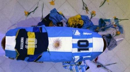 Argentina volcada en la Casa Rosada en el velatorio de Diego Maradona