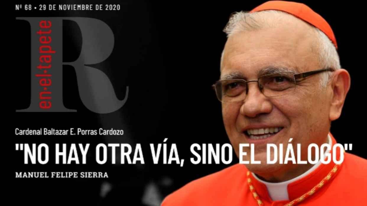 Revista En El Tapete: Cardenal Baltazar Porras:
