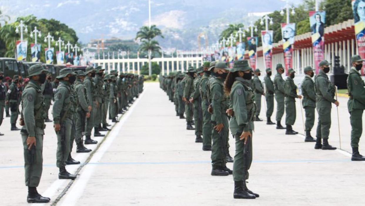 Las Fuerzas Armadas fueron desplegadas para las elecciones parlamentarias del 6D