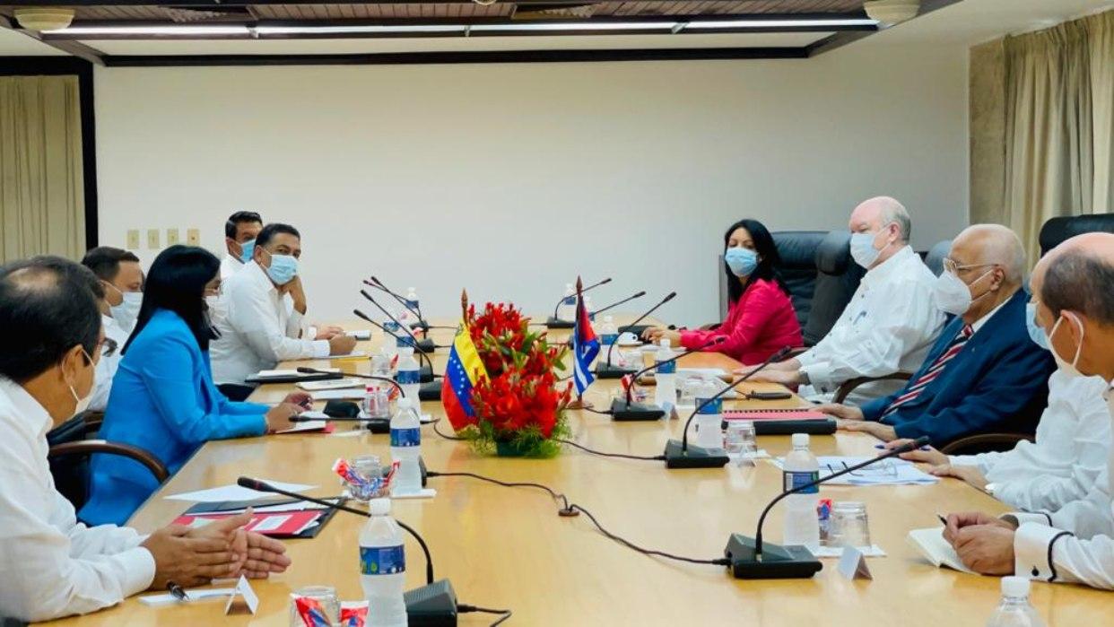 Representación venezolana sostuvo reunión con autoridades cubanas para fortalecer alianzas