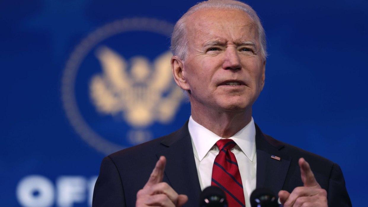 Biden impulsa la unidad nacional dos días antes de instalarse en la Casa Blanca