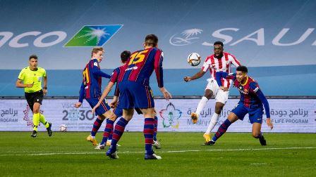 Athletic vence al Barcelona en tiempo extra para ganar su tercera Supercopa