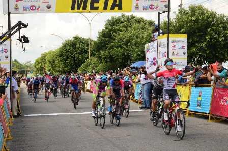Matteo Malucelli ganó la primera etapa de la Vuelta al Táchira de 2021