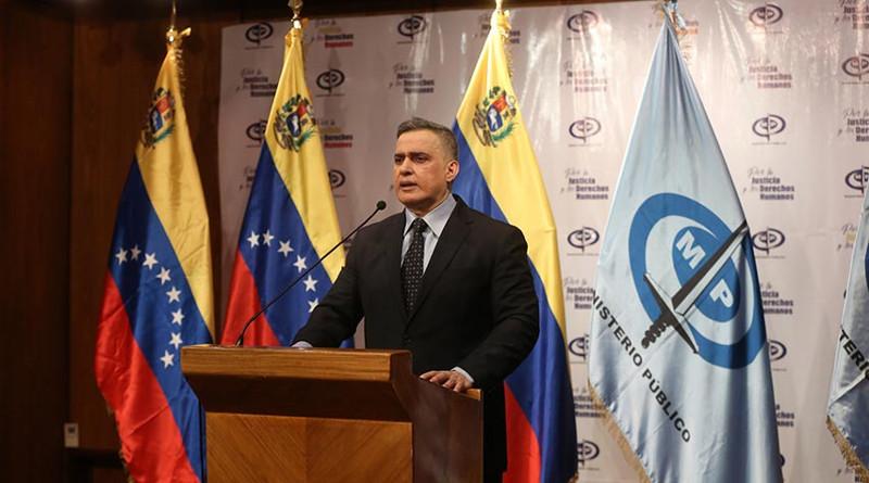Fiscal General calificó de secuestro la detención ilegal de Alex Saab