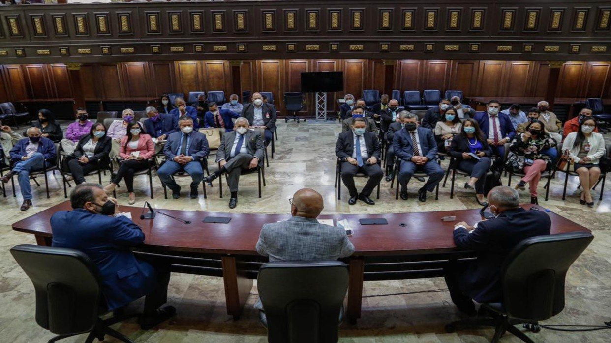 Jorge Rodríguez critica que gobernadores de oposición busquen repetir pero no lo digan abiertamente