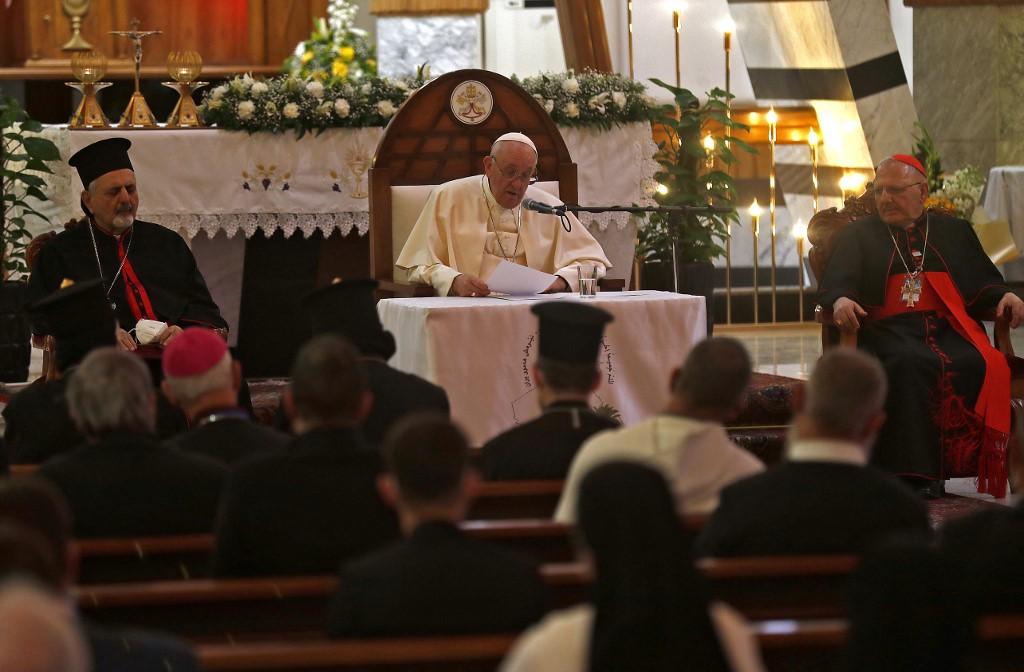 Papa califica a los yazidíes de Irak de