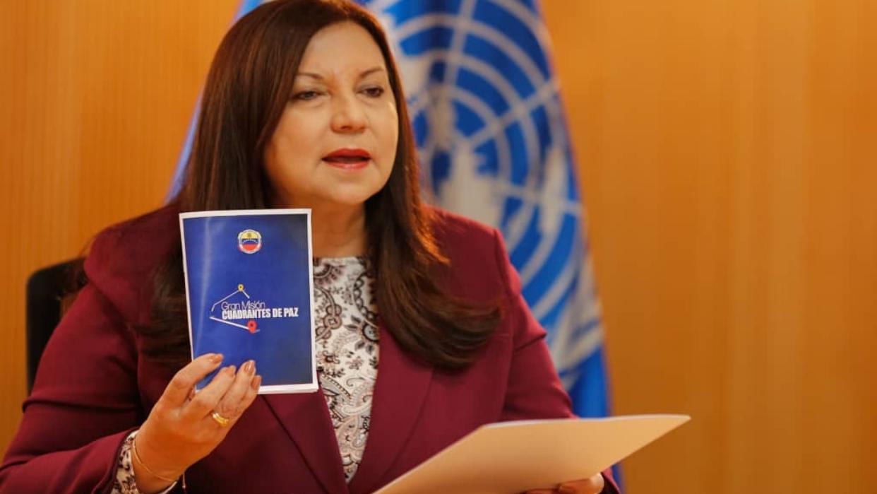 Ministra Meléndez: Venezuela cuenta con un sistema garante de la seguridad ciudadana