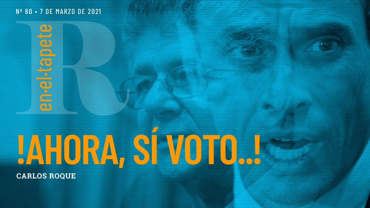Revista En El Tapete: ¡Ahora, sí voto...!