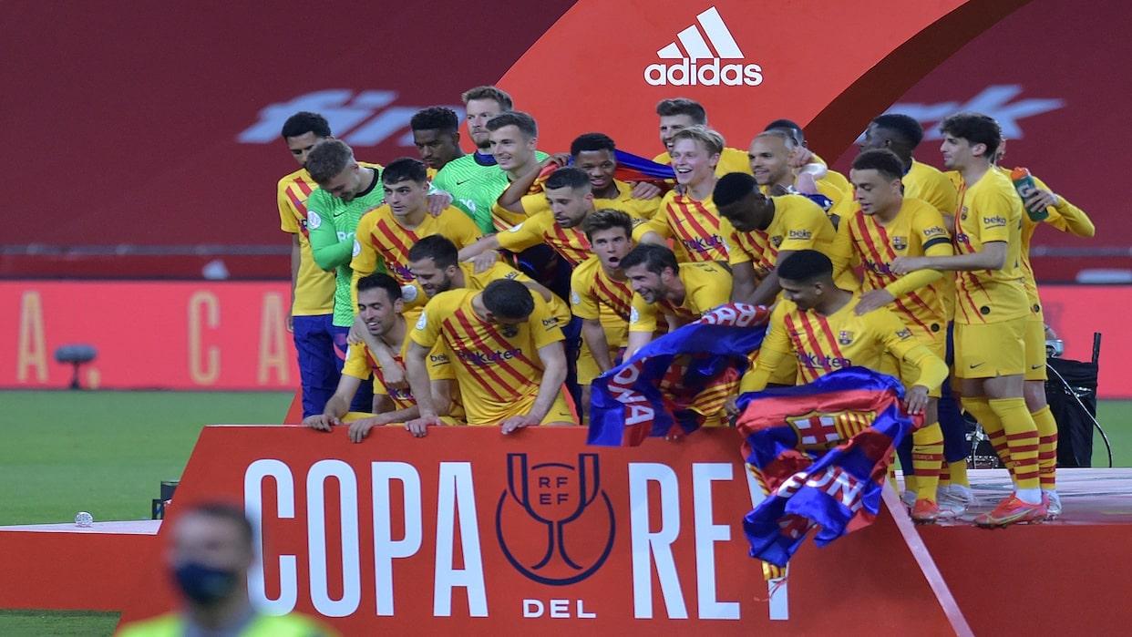 El Barcelona se coronó campeón de la Copa del Rey al ...