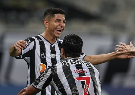Hulk y Savarino lideraron el festín de Mineiro ante Cerro en la Libertadores