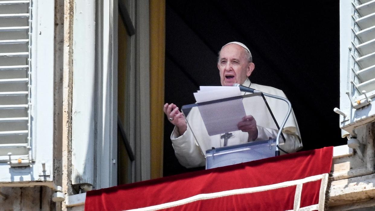 El papa Francisco expresa su preocupación por la violencia en Colombia