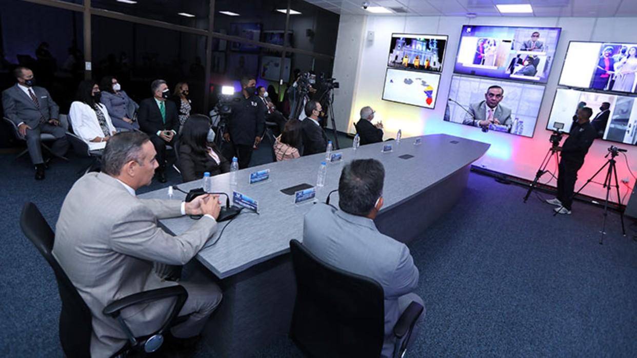 Presidente del TSJ inaugura Salas Telemáticas de Audiencias en todo el país