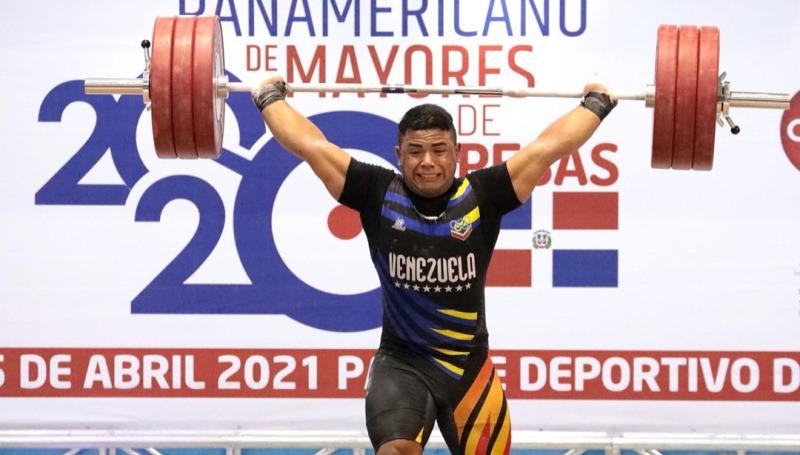 Cuatro pesistas venezolanos a las puertas de los Juegos Olímpicos de Tokio