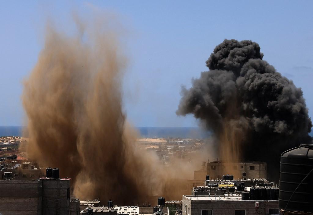 Se registran nuevos bombardeos israelíes en la Franja de Gaza