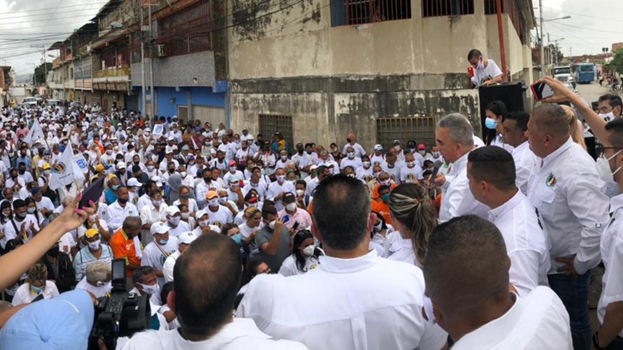 Luis Eduardo Martínez: En unidad, vamos a darle una paliza al oficialismo en las elecciones regionales